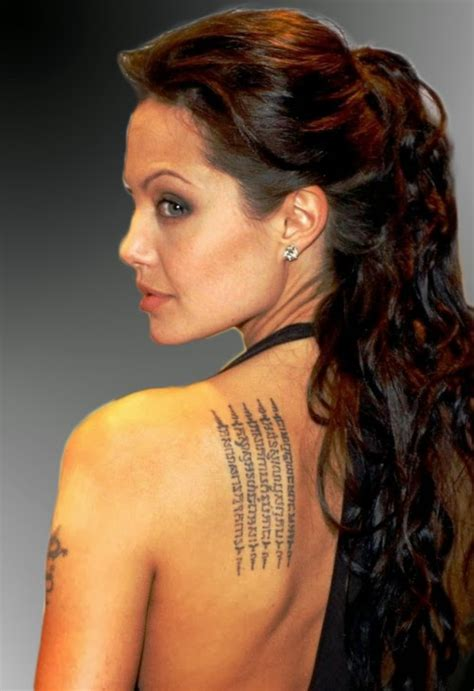 chest tattoo angelina jolie tattoos pictures gallery tattoos idea tattoos images