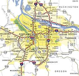map of downtown portland oregon