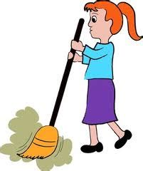 Sweeping The Floor by Exercises Simple Present Tense