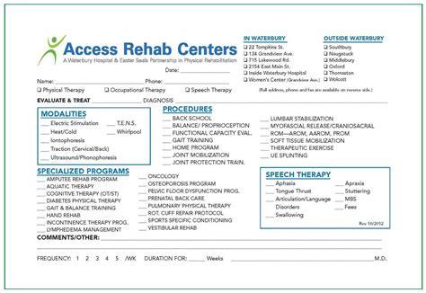 Access Detox by Referral Form Dental Referral Form Employee Referral