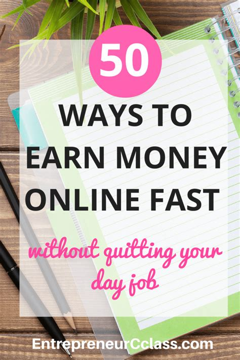 50 Ways To Make Money Online - 50 legitimate ways to earn money online fast in 2017