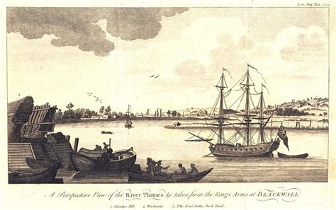 thames river arms a perspective view of the river thames c taken from the