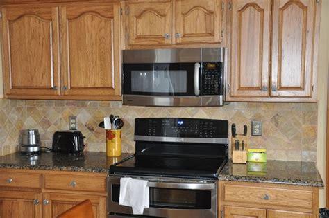 kitchen countertop and backsplash ideas granite countertops and tile backsplash ideas eclectic