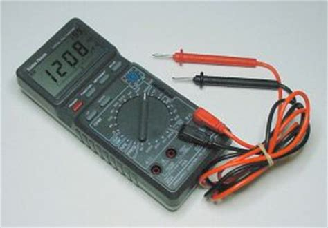 use digital multimeter to test christmas lights share