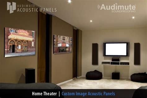 audimutes home theater wall decor