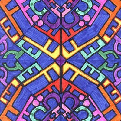 repeating pattern name grade school children will love this math art symmetry