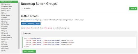 bootstrap button groups dropdown
