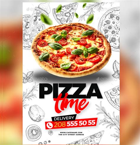 pizza flyer template free flyers for pizza flyer www gooflyers