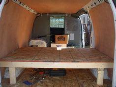 Building your van dwelling camper van build day 1 bed frame bug