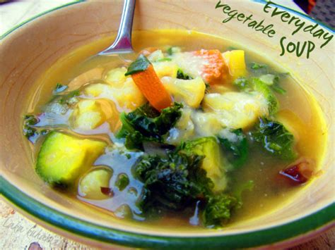 vegetables everyday everyday vegetable soup recipe by kathairo cookeatshare