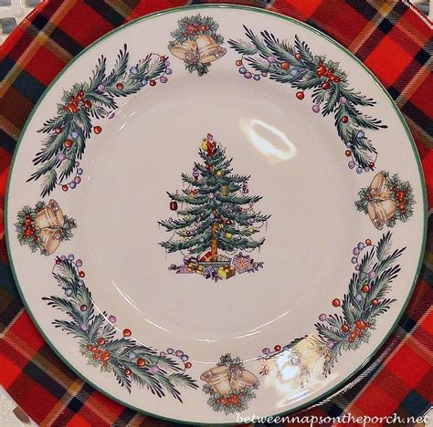 christmas tree table napkins pattern christmas table setting tablescape with spode christmas