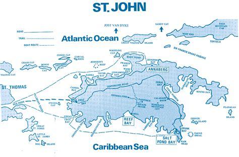 usvi map st map us islands