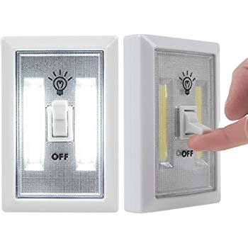 battery powered led light switch amazon com 2 light switch wall nightlight 8 led