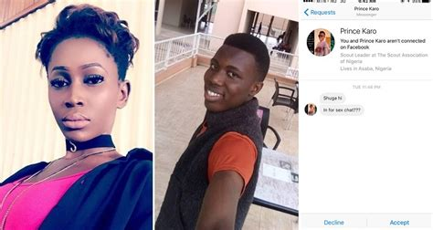 nigerian lady calls out underage boy who begged her for sex chat yabaleftonline