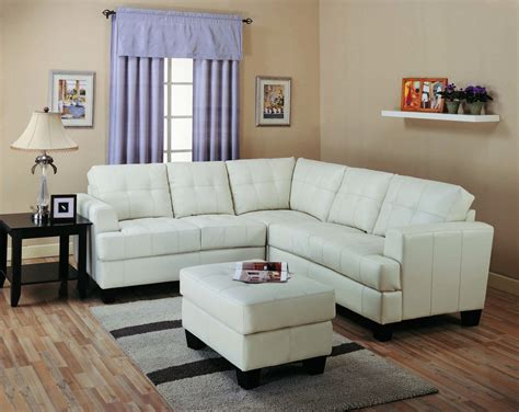 sectional in small room types of best small sectional couches for small living