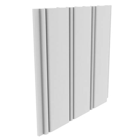 Composite Wainscoting Panels Shop Evertrue Interior Planking 7 5 In X 8 Ft Bead