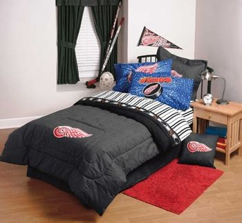 red wings comforter kids sheets clearance priced detroit red wings twin or