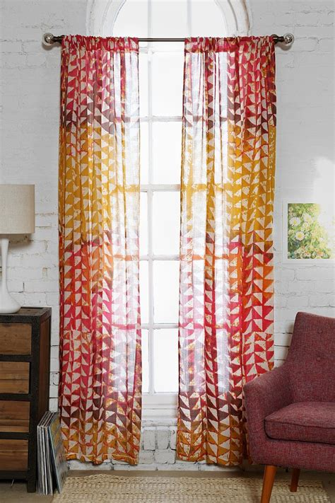urban curtains magical thinking swaying triangle curtain urban outfitters
