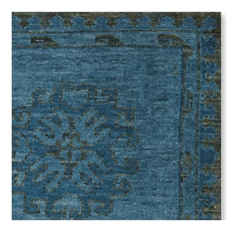 Williams Sonoma Rug by Blue Blossom Knotted Rug Williams Sonoma