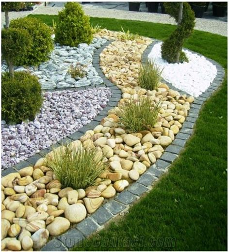 Pebbles And Rocks Garden Landscaping Pebbles Gallery