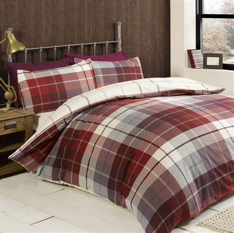100 brushed cotton flannelette bedding quilt duvet cover cosy hygge style ebay