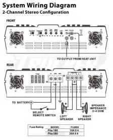 amazon com pyle plta180 2 channel 800 watt 24 volt truck
