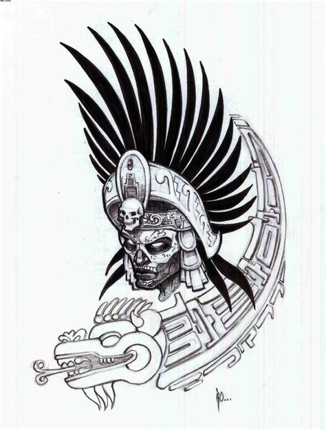 warrior tribal tattoo image result for hawaiian helmet aztec tattoos aztec