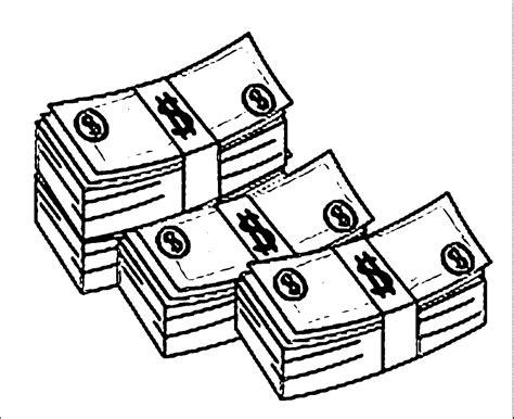 color money money coloring pages dollar banknote coloringstar