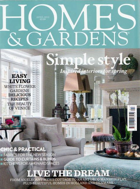 Home And Garden Company Homes And Gardens Magazine Daniel Schofield