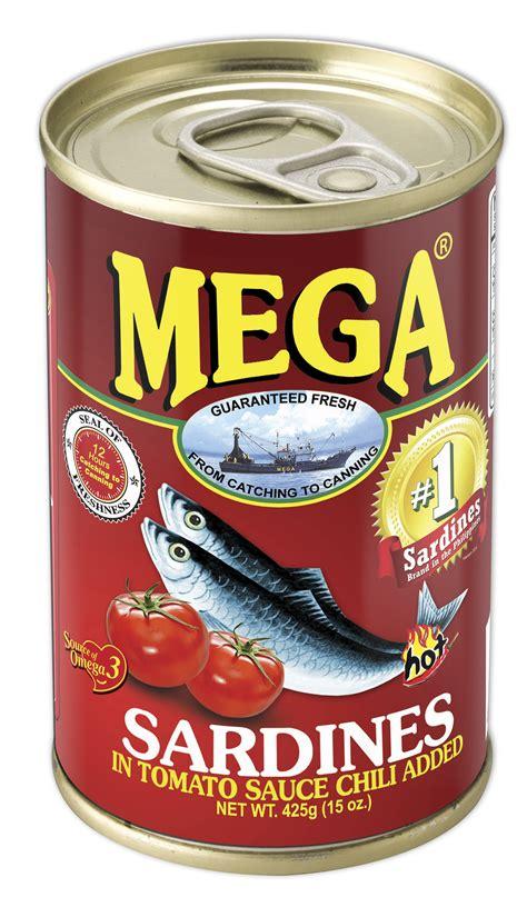 Pronas Sardines Chili Sauce 425g by Mega Sardines In Tomato Sauce With Chili 425g Mega