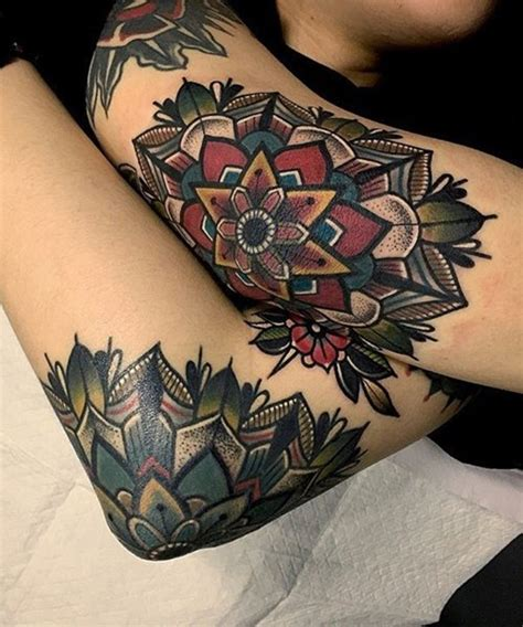 mandala flower tattoos flowers ideas for review