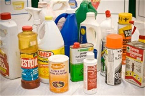 toxic household items poisonous household items