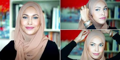 tutorial hijab pesta terbaru 2014 trend hijab