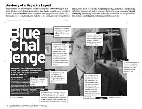 magazine layout anatomy hey i m jesslyn magazine page anatomy week 1