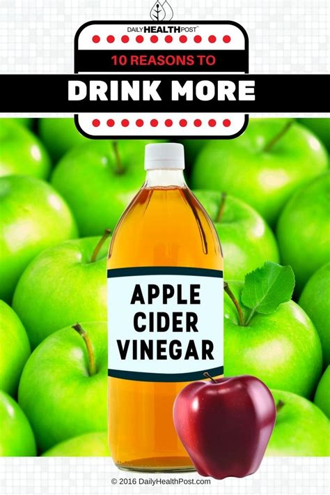 Can You Use Apple Cider Vinegar To Detox Underarms by 10 Reasons To Drink More Apple Cider Vinegar Apple Cider