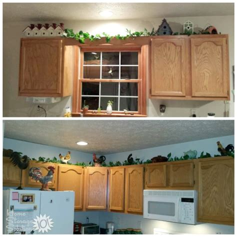 above kitchen cabinet decorations decorating above kitchen cabinets ideas tips