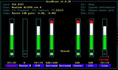 ubuntu reset alsa alsa mixer ubuntu