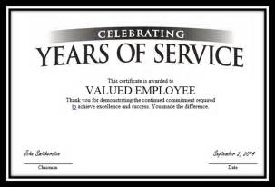 employee certificate of service template tag archive for quot employee anniversary quot recognizethis