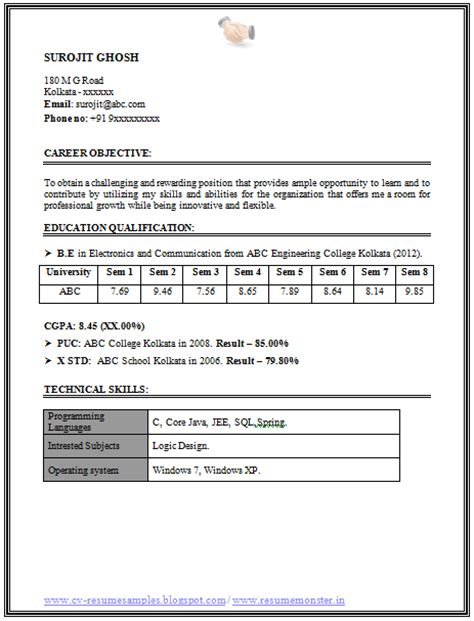career objective for electronics engineer 10000 cv and resume sles with free