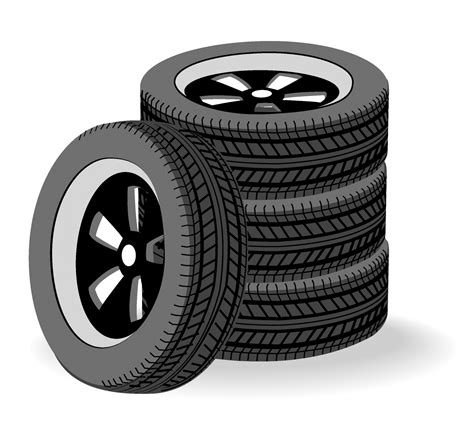 Car Tires Vector Free Tires Stacked Free Vector 4vector