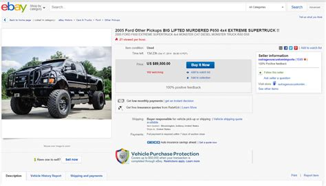 How Do You Find On Ebay Ebay Find Big Bad Mamma Jamma 2005 Ford F 650 With C7