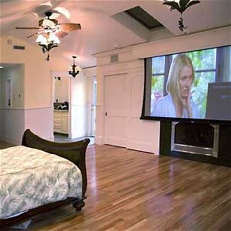 projector bedroom home automation technique in san jose san franscisco bay area