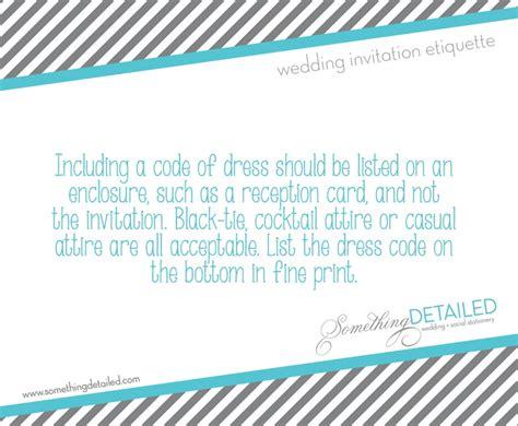 wedding invitation etiquette dress code 54 best wedding event planning images on