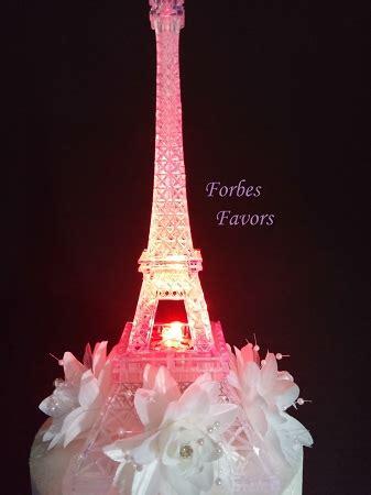 eiffel tower centerpiece lights led eiffel tower light up cake topper wedding cocktail table centerpiece