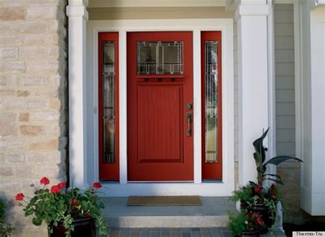 what your front door color has to say about your