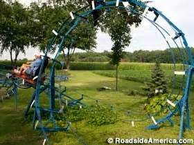 kids roller coaster backyard back yard backyards and indiana on pinterest