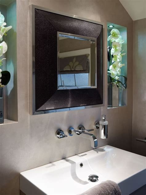 Modern Luxury Bathroom Mirrors 17 Best Images About Small Bathroom Ideas On