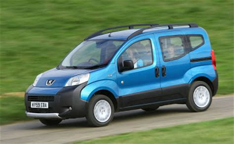 peugeot family car hi tech automotive 2010 peugeot bipper tepee pictures