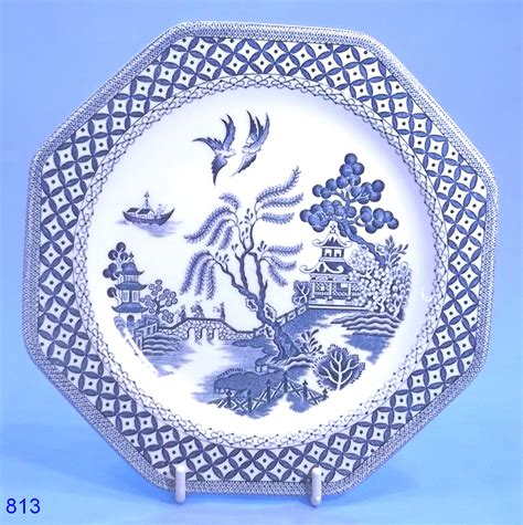 willow pattern image j and g meakin willow pattern tea plate sold