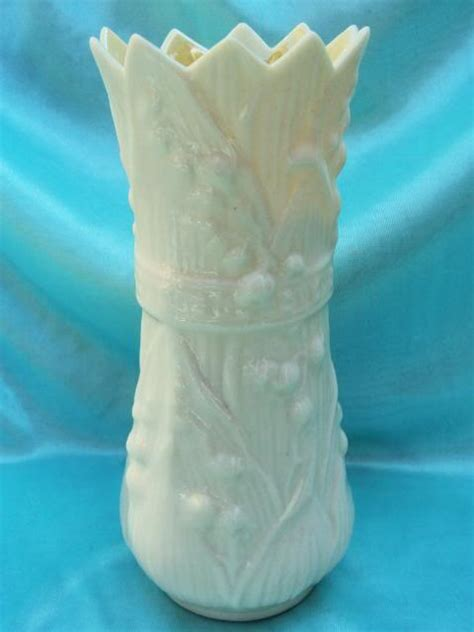 Belleek Vases by Belleek Ireland Ivory Flower Design Vase Belleek